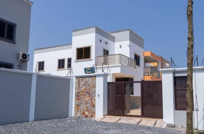 Three Bedroom House with One Bedroom Boys Quarters for sale at Spintex