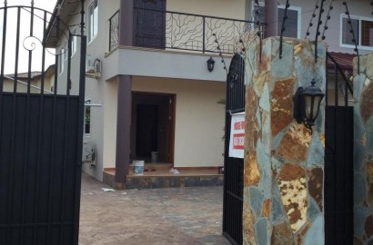 4 Bedroom House with 2 Bedroom Boys Quarters for Rent at Spintex