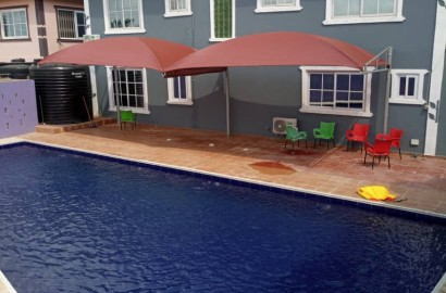 NEWLY BUILT 5 BEDROOM STOREY BUILDING HOUSE FOR SALE