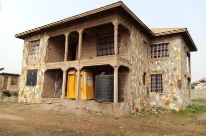 Uncompleted 13 Bedroom House on 3 Plots of Land for sale