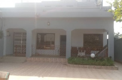 Furnished 3 Bedroom House with 1 Room BQ for rent