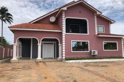 Four Bedroom House with 1 Bedroom Staff Quarters Available for Rent