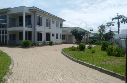 Ensuite 4 bedroom Storey with 2 room Boys' Quarters for rent