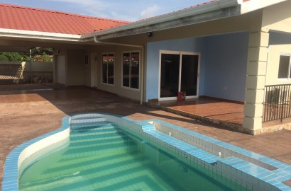 Four Bedroom House with Two bedroom Boys Quarter for Rent