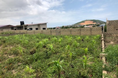 Partially fenced land for sale