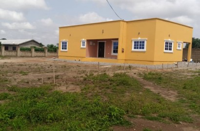 A newly constructed 3 bedroom house for sale