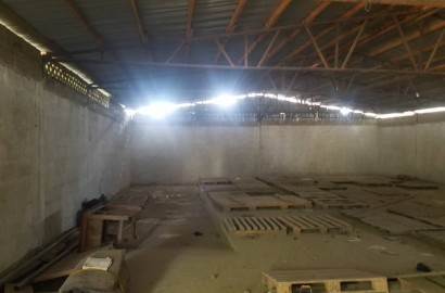 Self-Compound Warehouse Available for Long and Short Term Lease in Kumasi