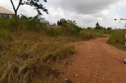 Registered Double Plot of Land for Sale in Kumasi