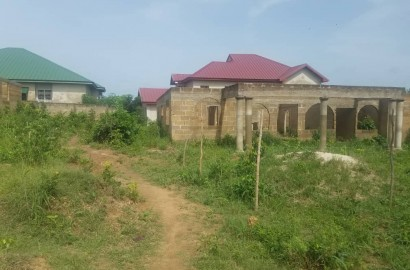 Uncompleted 5 Bedroom House for Sale in Kumasi