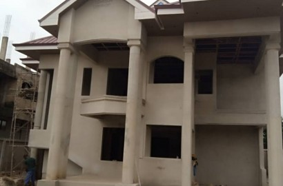 Uncompleted 5 Bedroom Storey House for Sale in Kumasi