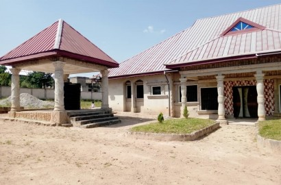Uncompleted Ensuite 6 Bedroom House with Summer Hut for Sale