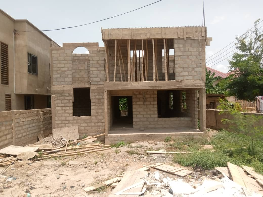 Uncompleted 4 Bedroom house for sale