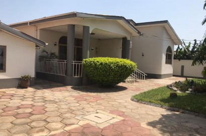 5 Bedroom Furnished House with Two Bedroom Staff Quarters Available for Rent