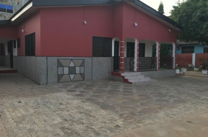 3 Bedroom House with One Bedroom Boys Quarters Available for Rent